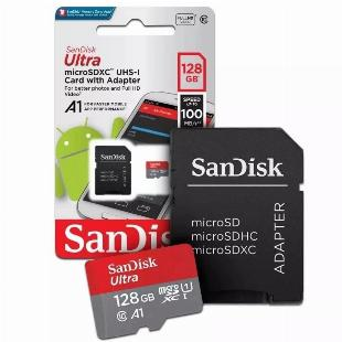 Cartão de Memória MicroSd SanDisk Ultra 128Gb