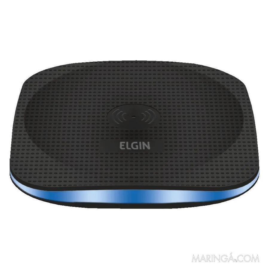 Carregador De Mesa Wireless Elgin - 12x S/Juros!!